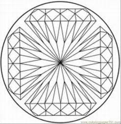 Free Printable Coloring Page Kaleidoscope 8 Other &gt  sketch template