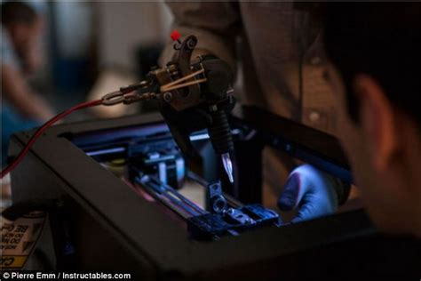 3d printer tattoo the 3d printer that can give you a daily mail