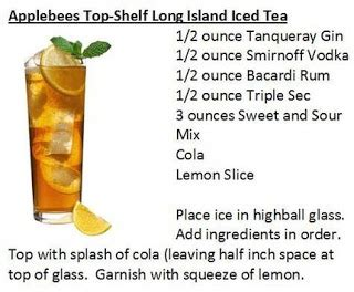 Top Shelf Island Iced Tea by