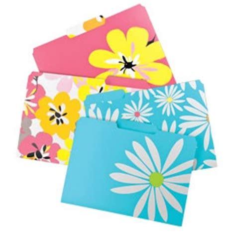 Decorative File Folders File Folders Decorative File Folders Colorful File