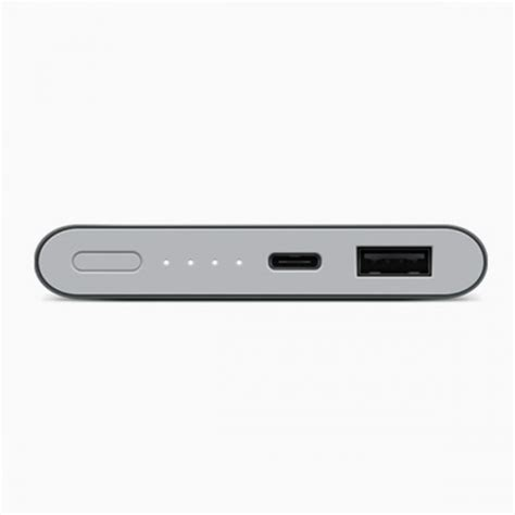 Powerbank Xiaomi 10000 Mah Slim Fast Charging jual xiaomi original mi slim power bank usb type c 10000 mah fast charge grey indonesia