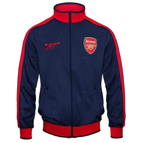 Vest Hoodie Arsenal Fc 09 arsenal fc official football gift mens retro track top jacket