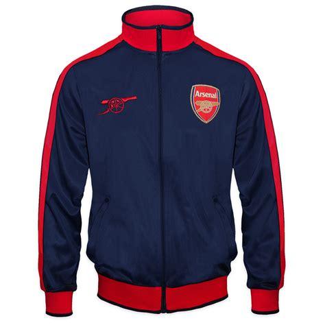Sweater Half Zipper Arsenal Blue 3rd arsenal fc official football gift mens retro track top jacket ebay