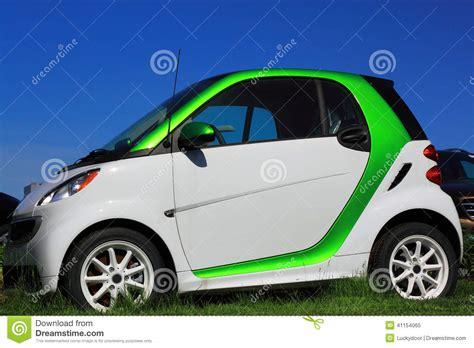 smart car green green smart electric car stock photo image 41154065
