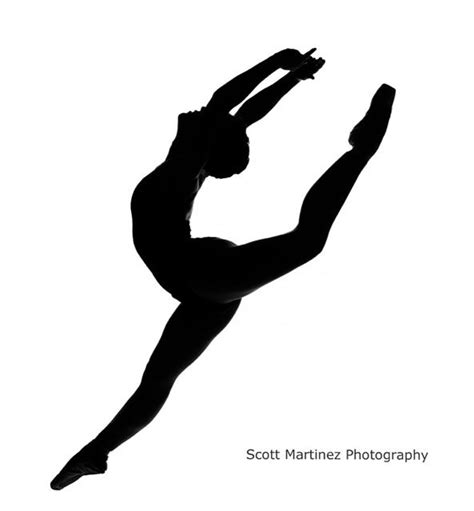 Dancer Outline by Dancer Jumping Silhouette By Www Scottmartinezphotography Resolution 593 X 640 183 28 Kb