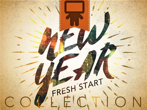 fresh new year new year fresh start collection playback media youth
