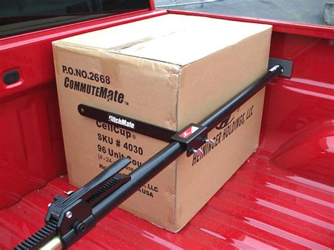 truck bed cargo bar amazon com heininger 4015 hitchmate cargo stabilizer bar