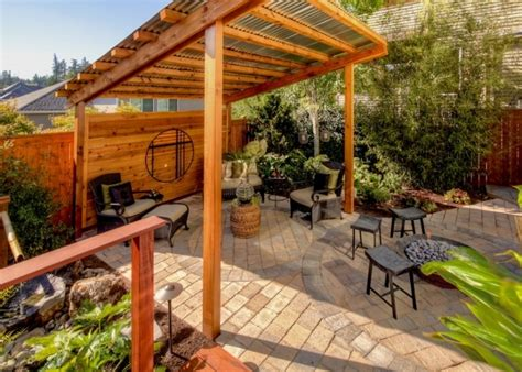 pergola with roof roofing for pergola outdoor goods