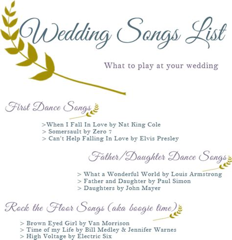 shortest father daughter dance songs wedding songs list squirrelly minds