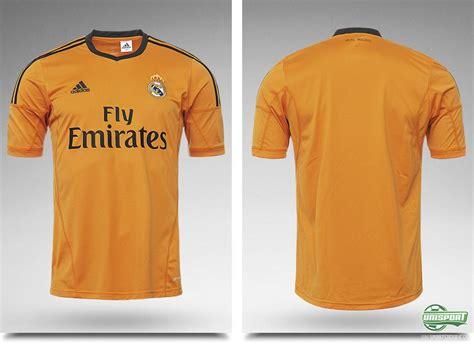 Tshirt Real Madrid Ladacima New real madrid launch their new orange third shirt