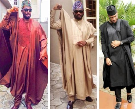 design of agbada with aso ofi clothing material nigerian men wedding guest styles 7 appropriate outfit