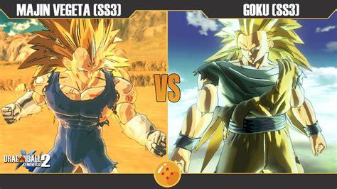 Goku Vs Vegeta Super Saiyan 3