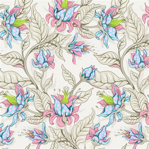 tutorial floral design create a seamless fantasy floral pattern in adobe photoshop