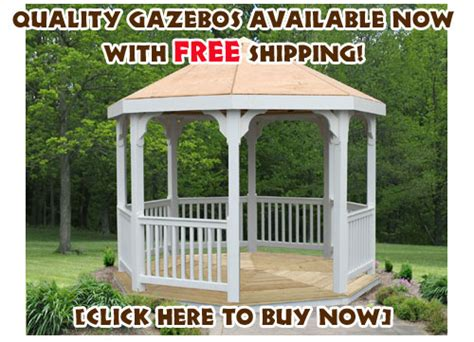 Backyard Gazebos For Sale Outdoor Furniture Design And Ideas