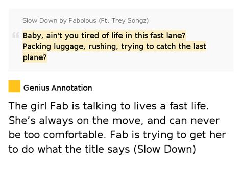 trey songz comfortable lyrics baby ain t you tired of life in this fast lane