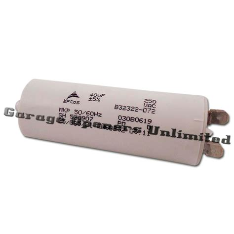 garage door capacitor replacement liftmaster 30b529 capacitor 40uf