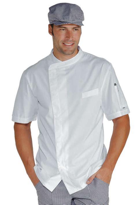 vetements de cuisine pas cher veste chef cuisinier blanche tissu ultra l 233 ger vestes de