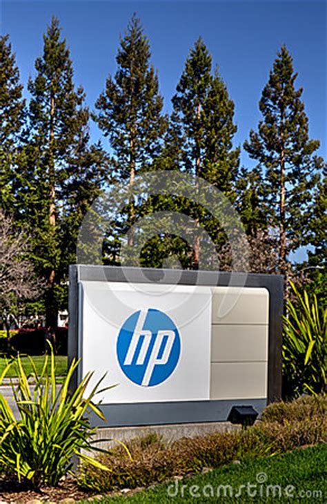 Hp Corporate Office by Hewlett Packard Corporate Headquarters Editorial Photo