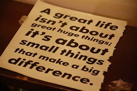 small things footsteps little things can make a big difference