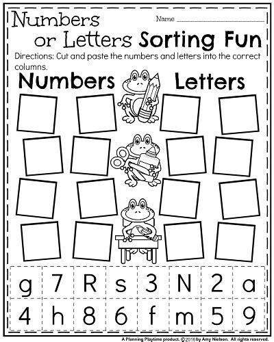 pattern recognition letters review time back to school kindergarten worksheets kindergarten