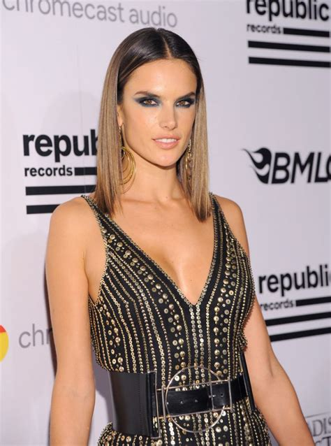 Los Angeles Property Records By Name Alessandra Ambrosio Republic Records Grammy 2016 Celebration In Los Angeles