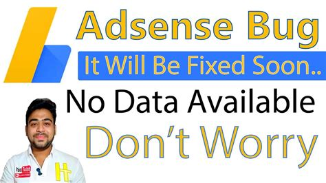 Adsense No Data Available Youtube | no data available in adsense december 2017 don t worry