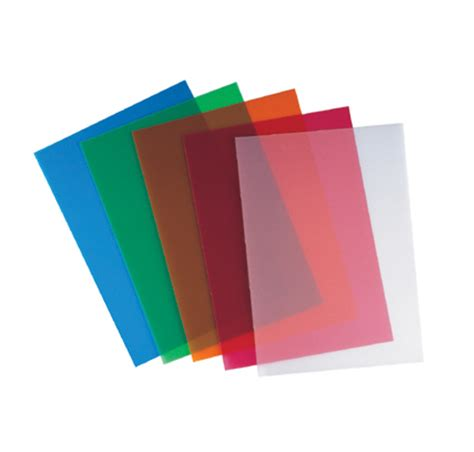 Colored Transparent Sheets Pvc Binding Transparency by Colored Transparent Sheets