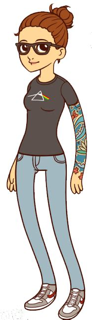 imágenes hipster art hipster girl png by geneeditions on deviantart