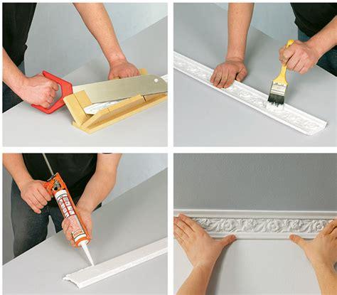 decorazioni cornici legno cornici in polistirolo o in gesso guida installazione