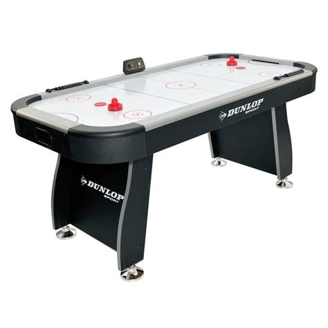 table hockey dunlop dunlop 6ft air hockey table air hockey tables