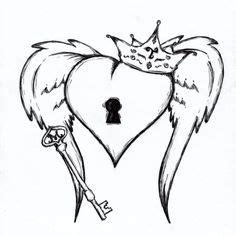 1000 Id 233 Es Sur Tatouage Ailes De Coeur Sur Pinterest Coeur Avec Ailes Couronne Et Cle Idee De Tatouage Interessante