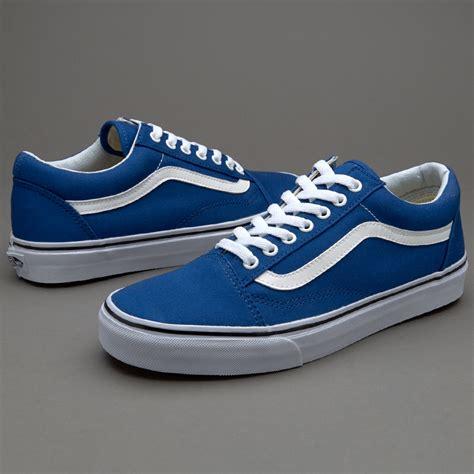 Oldskool Blue vans skool canvas blue mens shoes vans au420 www rachelsr