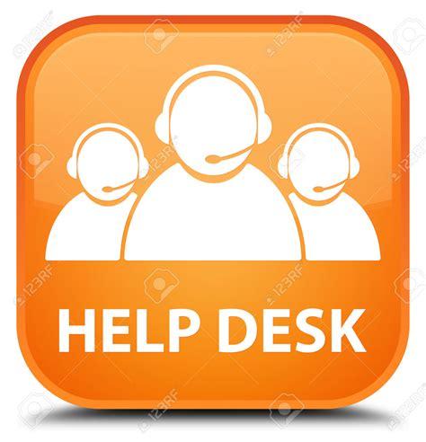 free help desk help desk icon orange free icons