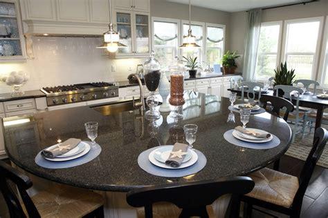 Circular Kitchen Island by 39 Fabulous Eat In Custom Kitchen Designs