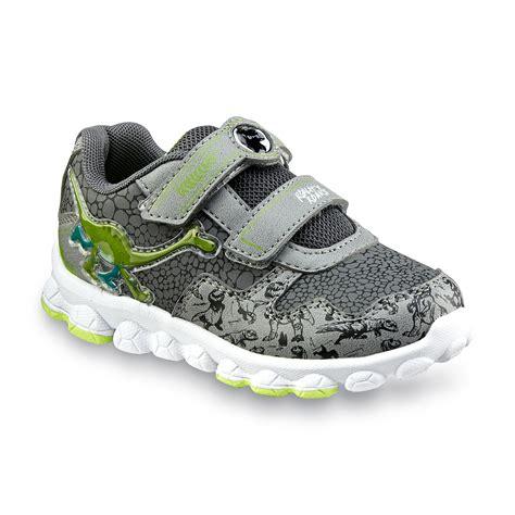 dinosaur shoes for disney pixar toddler boy s the dinosaur gray green