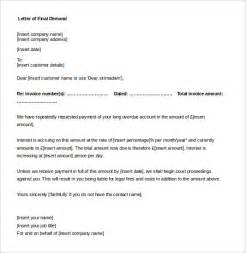 legal letter template money owed 3