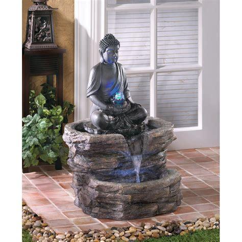 zen buddha water fountain ebay