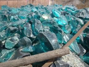 blue colored rocks clear colored cobalt blue slag glass rocks for