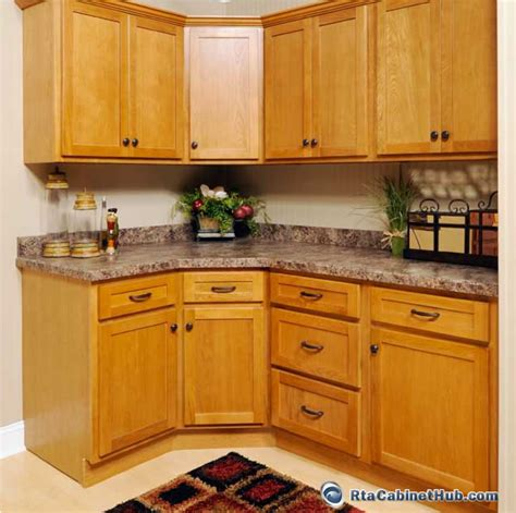 Red Oak Cabinets Kitchen by Rta Kitchen Cabinets Oak Shaker Rta Cabinet Hub