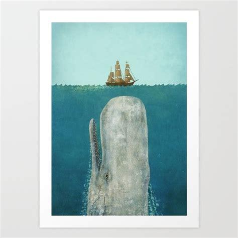 terry fan the whale art print the whale art print by terry fan