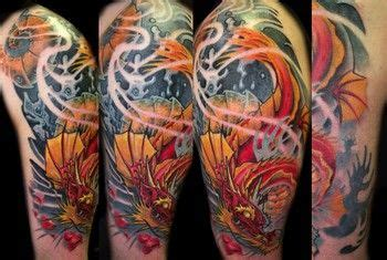 what does a dragon tattoo mean koi idea what do you think click pic to