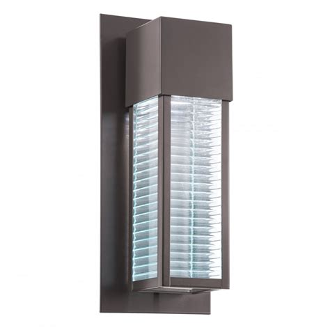 bronze outdoor wall lights uk contemporary led exterior wall light in a bronze finish