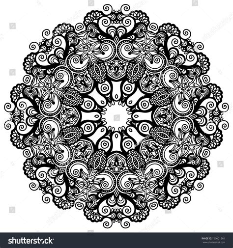 geometric pattern lace circle lace ornament round ornamental geometric doily
