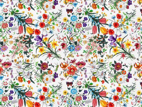 flower pattern on tumblr bohemian wallpaper art wallpapersafari