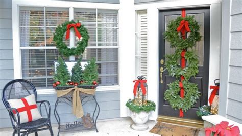 Budget Blinds Mn 20 Elegant Outdoor Christmas Decorations Perfect For The