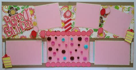 scrapbook layout ideas for birthday lauren s creative creative scrapbook layout happy