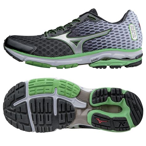 mizuno wave rider mens running shoes mizuno wave rider 18 mens running shoes ss15 sweatband