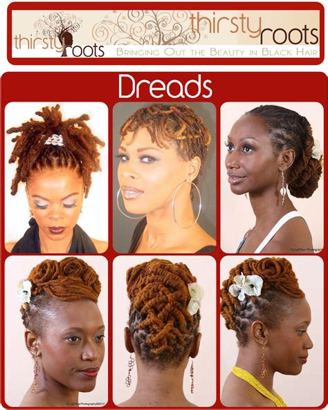 dreadlocks pin up styles