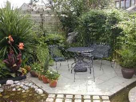 Patio Gardens Ideas Small Gardens Small Patio And Patio On Pinterest