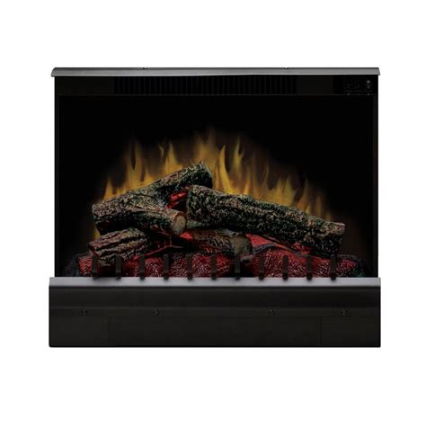 home depot electric fireplace insert dimplex bedford 23 in electric fireplace insert dfi23096a